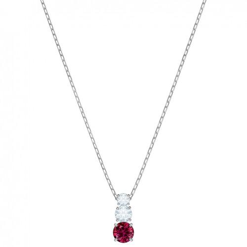 Swarovski Attract Trilogy Pendant 5447060 Red Rhodium plating