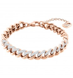 Swarovski Lane Bracelet 5424232 White Rose gold plated