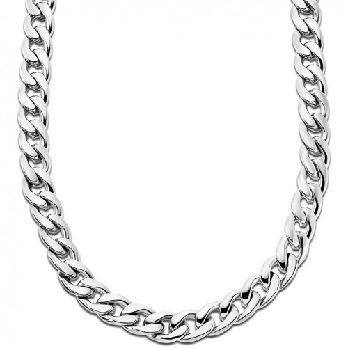 Lotus Style stainless Steel Men's necklace LS1938-1/1