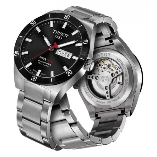 Tissot PRS 516 watch automatic T0444302105100