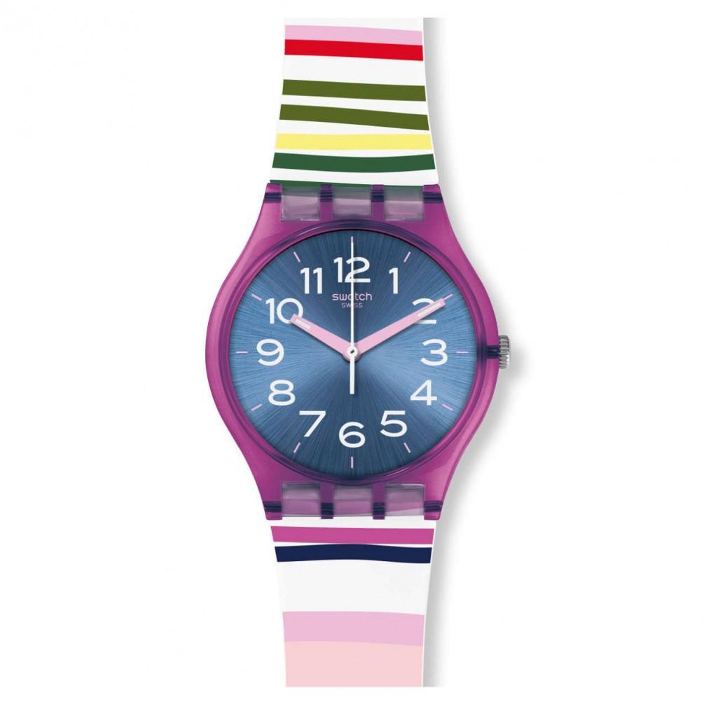 Azul Funny Gent Esfera Gp153 Rosa Color Swatch Satinada Lines Reloj xWoeEQrCBd