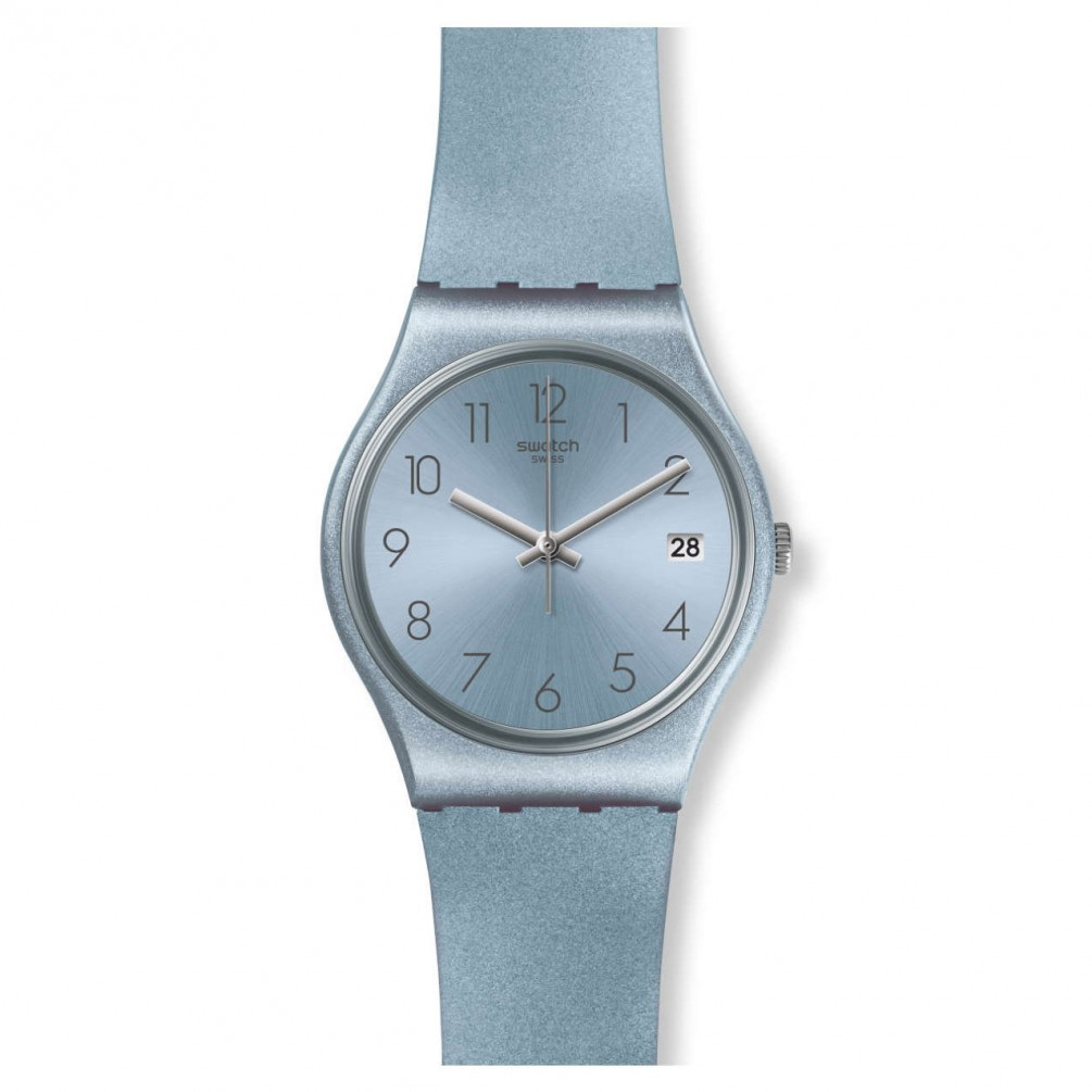 Swatch Blue Original Title Show Gent Gl401 Details Azulbaya About Strap Silicone Watch F13KTcJl