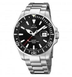 Jaguar Acamar watch J860/D black dial and black bezel 44mm diameter