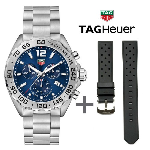 Bundle Offer Tag Heuer Formula 1 CAZ101K.BA0842 + rubber strap FT8024