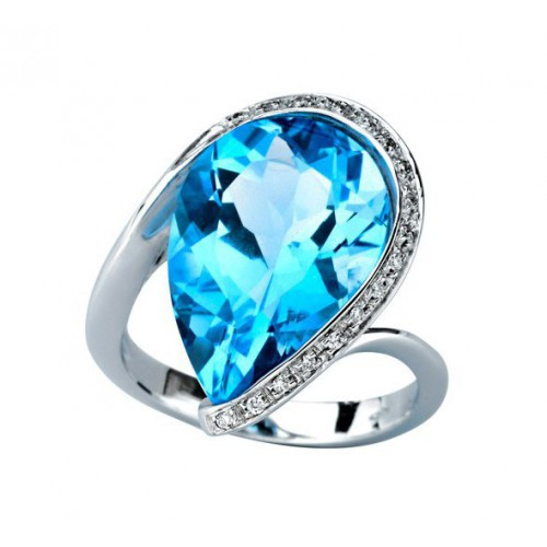 A01-822/T Blue Topaz ring: 01