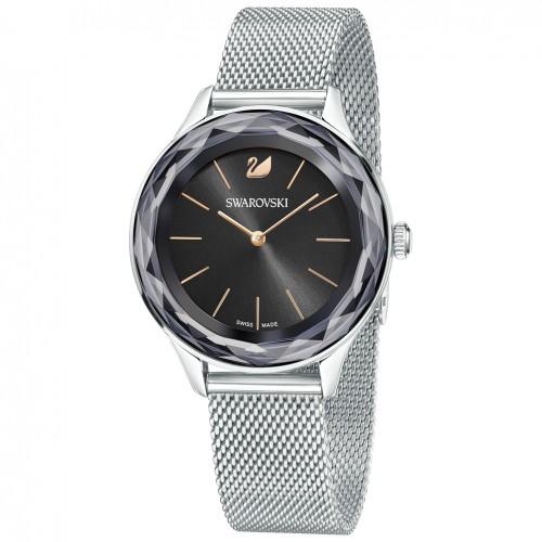Octea Nova Swarovski watch 5430420 Black dial milanese bracelet