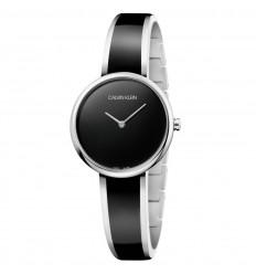 36b8b1936213 Reloj Calvin Klein mujer SEDUCE K4E2N111 Acero inoxidable Esfera negra ...