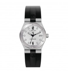 L.Bruat Scaphandre lady watch LB29 4303 silver dial