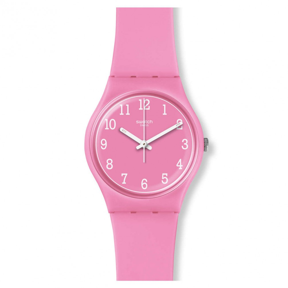 Swatch Original Gent Watch Pinkway Gp156 Pink 34 Mm 7610522785205