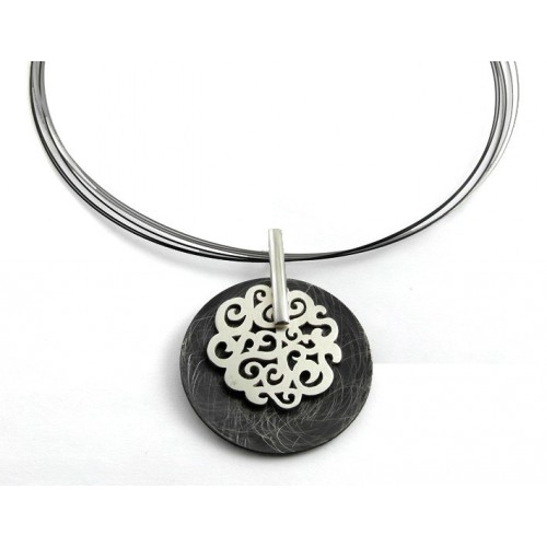 1787A CO Silver Pendant