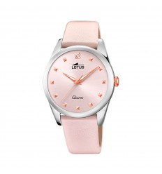 Lotus Trendy watch Woman Light pink 35mm leather strap 18642/2