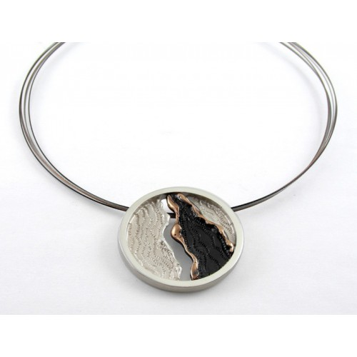 Pendant silver / copper CO 1798A