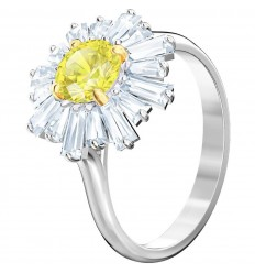 bd79567bf Swarovski Sunshine ring Yellow Rhodium plating 5472481 5482709