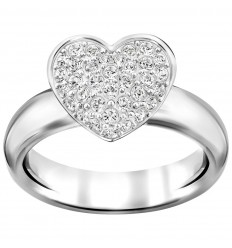 05a2407de Swarovski Even heart white rhodium plating 5221546 5190215 5221553 ...