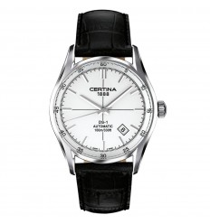 Certina DS -1 men watch Automatic silver dial C0064071603100