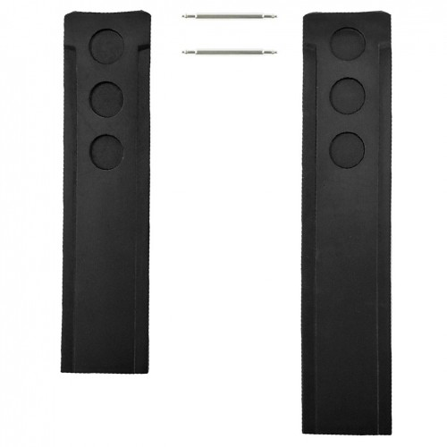 Black rubber strap Tissot PRS 516 model T100417A 20mm T610037162