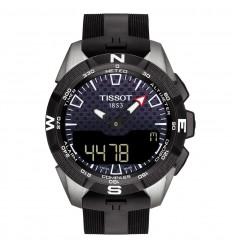 Tissot T-Touch Expert Solar II watch Touchscreen Black rubber T1104204705101