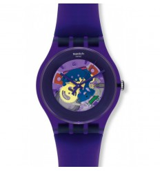 Swatch New Gent Purple Lacquered SUOV100