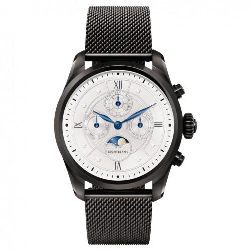 Montblanc Summit 2 Smartwatch 119723 Black Steel Milanese Edition