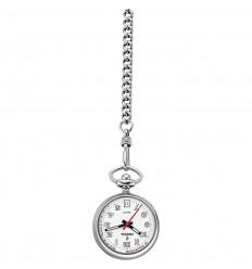 Nurse Pocket Watch FESTINA steel white dial F2027/2