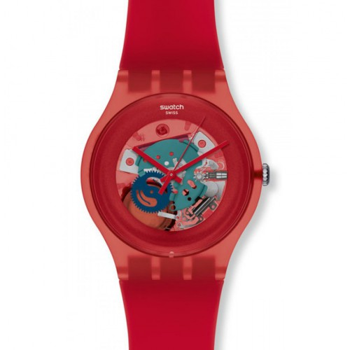 Swatch New Gent Red Lacquered suob101