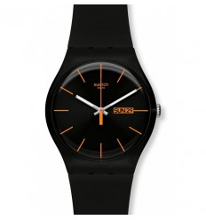 Swatch New Gent Whatch DARK REBEL SUOB704