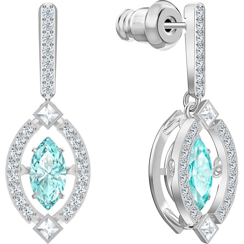 nieve superstición título  Arracades Swarovski Sparkling cristall blau bany de rodi 5485723