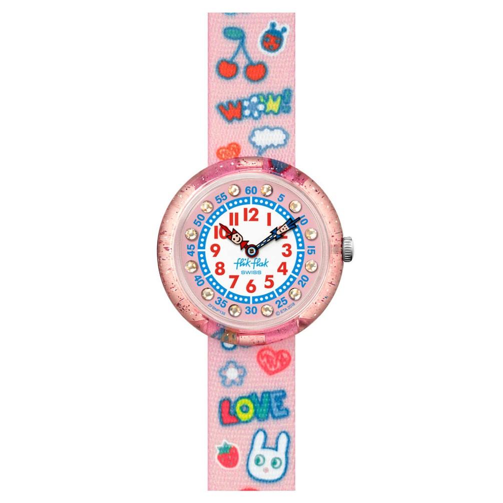 Flik Purpurina Fbnp135 Reloj Story Love Flak Time Wow Rosa Caja UzSMqVpG
