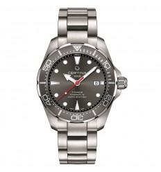 Certina DS Action Diver Powermatic 80 Titanium grey dial C0324074408100