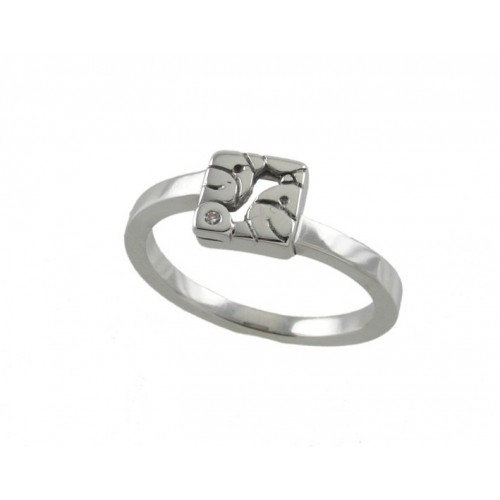 White communion gold ring bears 78828-A