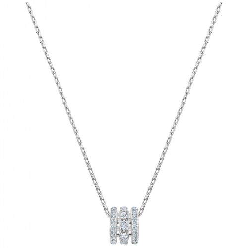 Swarovski Further pendant White crystals Rhodium plating 5509400