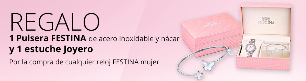 8e1192a269f7 Comprar Reloj Festina mujer en acero inoxidable BOYFRIEND COLLECTION -  Joieria Rovira